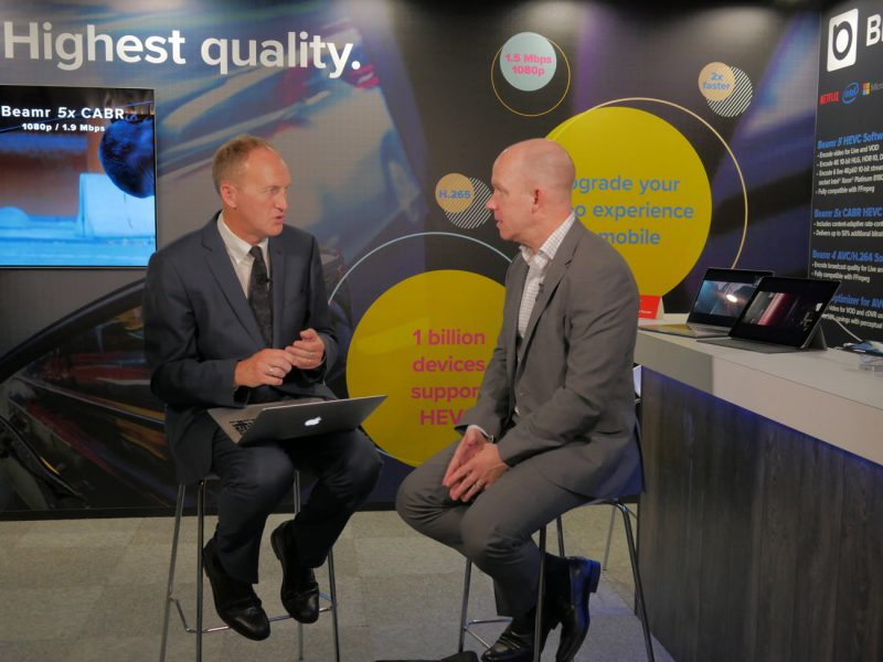 beamr ibc 2017 mark donnigan rapidtv news interview